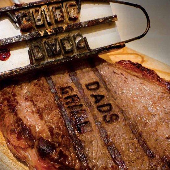 BBQ Branding Name Iron