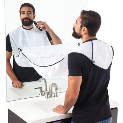 White Beard Bib
