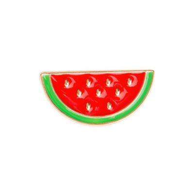 Water Melon Slice Pin Badge