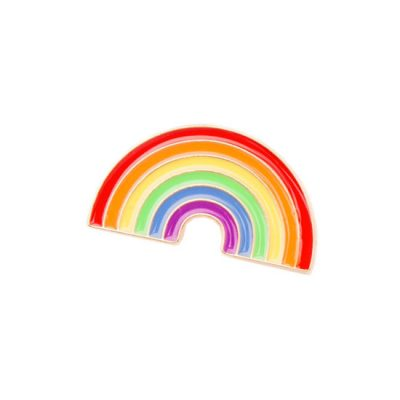 Rainbow Pin Badge