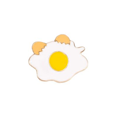 Sunny Side Up Eggs Pin Badge