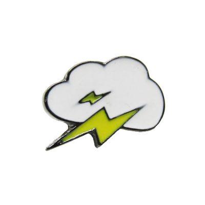 Lightning Pin Badge