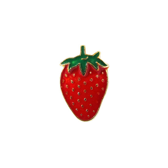 Strawberry Pin Badge