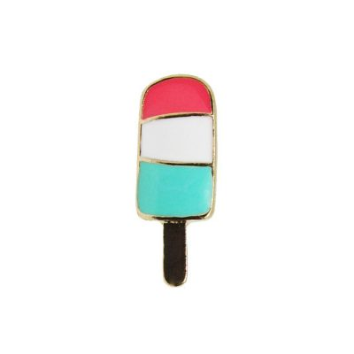Ice Lolly Pin Badge