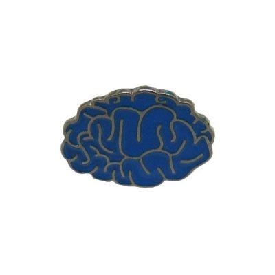Human Brain Pin Badge