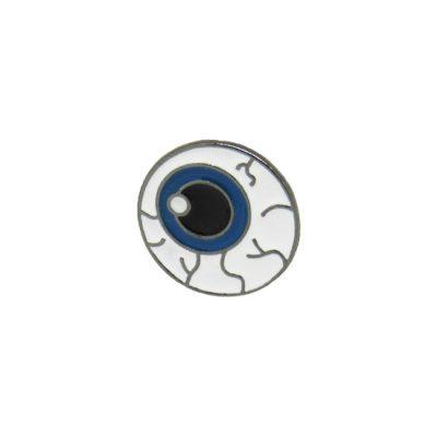 Eyeball Pin Badge