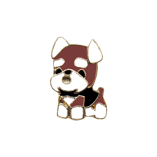 Puppy Pin Badge
