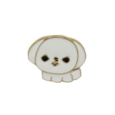 Bichon Frise Pin Badge