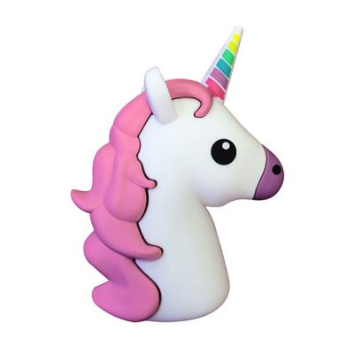 Pink Unicorn 2600 mAh Power Bank