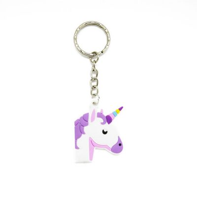 Unicorn Soft Keyring