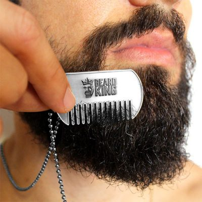 Beard King Dog Tags