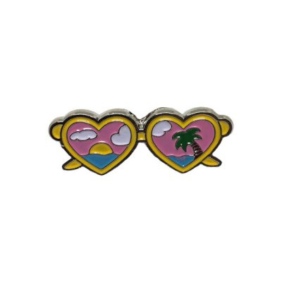 Island Sunglasses Pin Badge