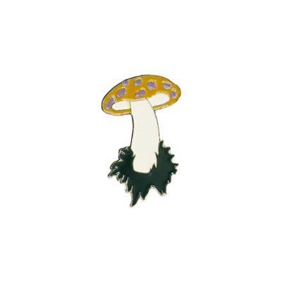 Mushroom Pin Badge