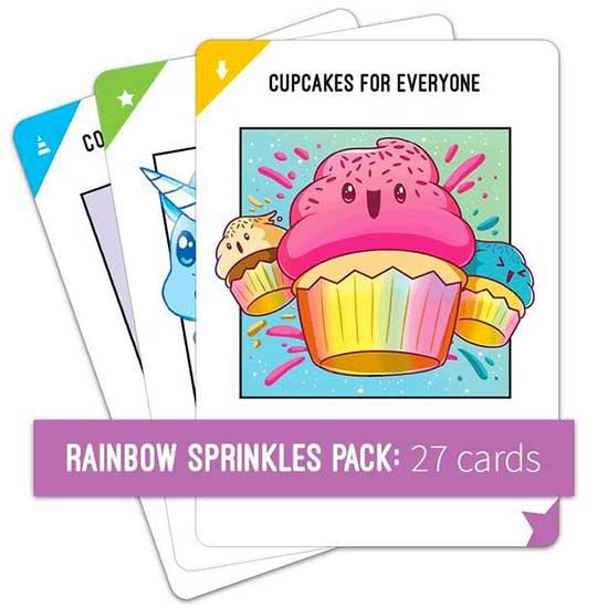 Shop Rainbow Sprinkles Expansion Pack Unstable Unicorns