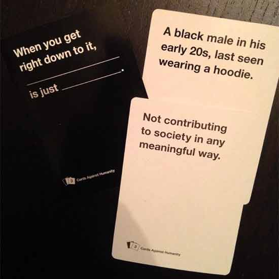 Cards Against Humanity Funniest Card