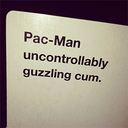 Pac-Man Cards Against Humanity Card