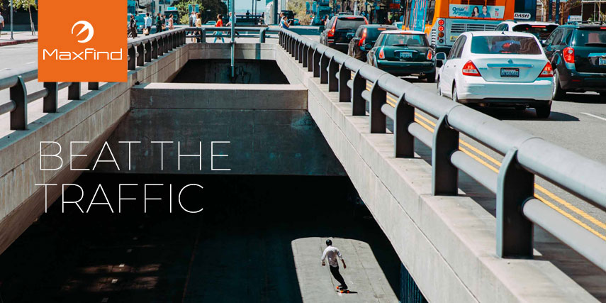 Beat the Traffic with the Max 2 Electric Skateboard