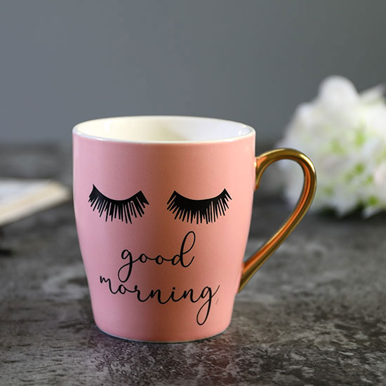 16f02565981 Pink Good Morning Coffee Mug – Lymyted