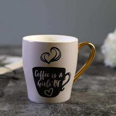 Coffee is a Girls' Best Friend Mug