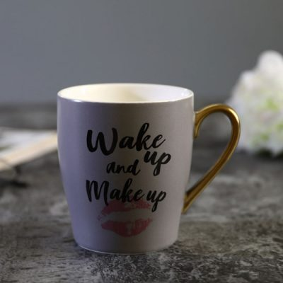 Wake Up and Makeup Coffee Mug