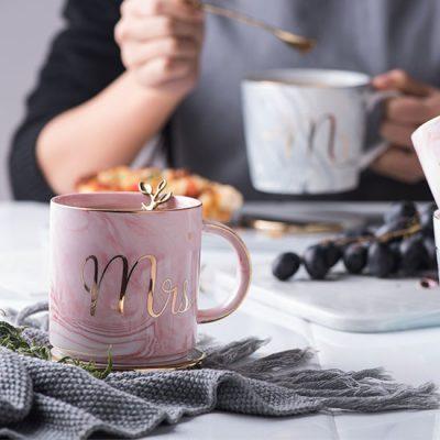 Marble Mrs Mug