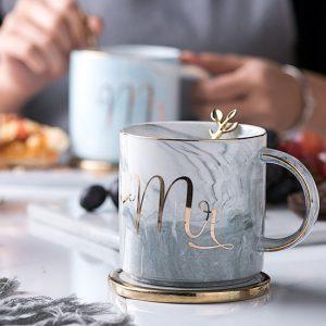 Marble Mr Mug