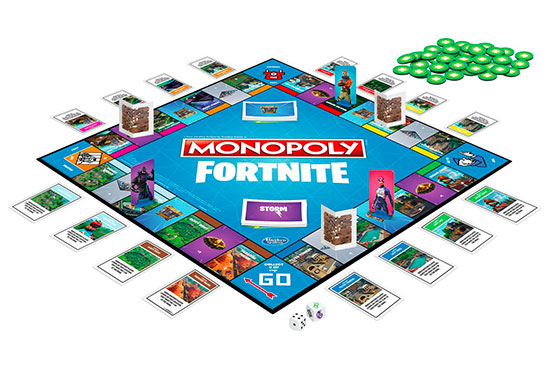 Fortnite Monopoly Contents