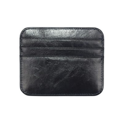 Monaco Card Holder Mens Black