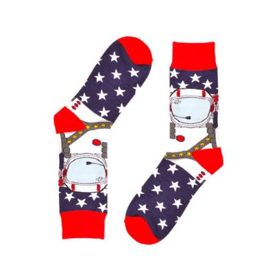Astronaut Novelty Socks