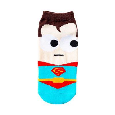 Ankle Novelty Superman Socks