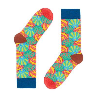 Novelty Seashell Socks